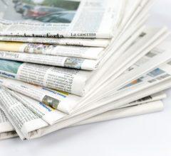 Rassegna Stampa del mese di Ottobre 2017