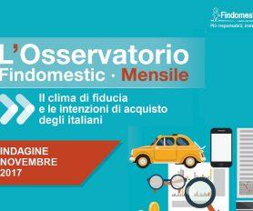 Findomestic: Osservatorio Mensile Automotive – Novembre 2017