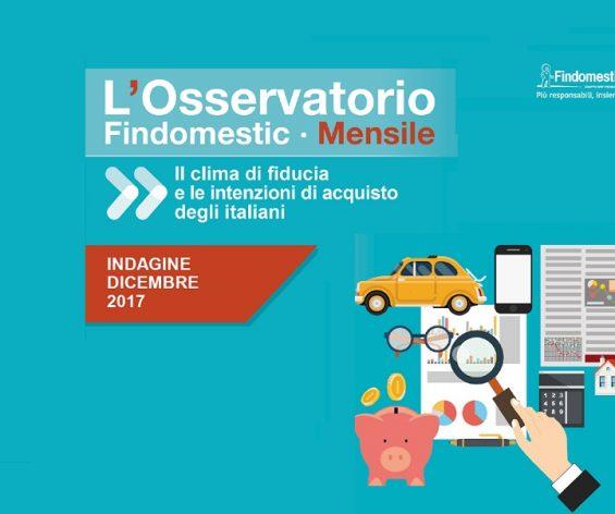 Findomestic: Osservatorio Mensile Automotive – Dicembre 2017