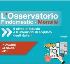 Findomestic: Osservatorio Mensile Automotive – Gennaio 2018