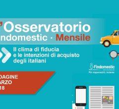 Findomestic: Osservatorio Mensile Automotive – Marzo 2018