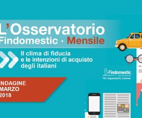 Findomestic: Osservatorio Mensile Automotive – Marzo 2018