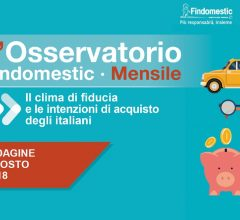 Findomestic: Osservatorio Mensile Automotive – Agosto 2018