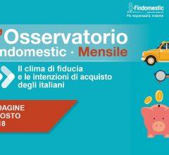 Findomestic: Osservatorio Mensile Automotive – Agosto 2018