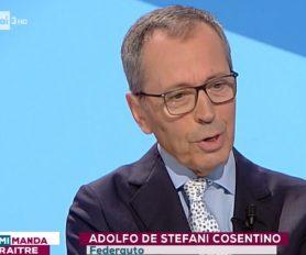 Adolfo De Stefani Cosentino a Mi Manda RaiTre - puntata del 9 ottobre 2018