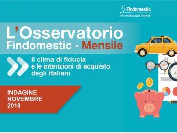 Findomestic: Osservatorio Mensile Automotive – Novembre 2018