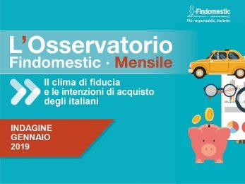 Findomestic: Osservatorio Mensile Automotive – Gennaio 2019