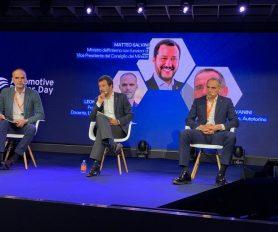 Confronto tra il vicepremier Matteo Salvini e il presidente di Autotorino Plinio Vanini | Quali politiche per il mercato italiano dell'auto?