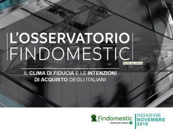 Findomestic: Osservatorio Mensile Veicoli – Novembre 2019
