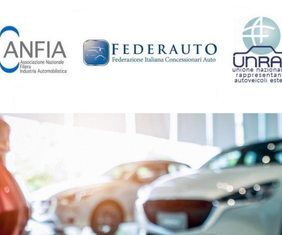 Comunicato congiunto ANFIA, FEDERAUTO, UNRAE: Automotive a rischio senza interventi mirati