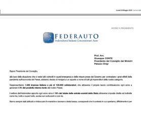 Lettera aperta dei concessionari di autoveicoli al Presidente del Consiglio dei Ministri, Giuseppe Conte, pubblicata sul Corriere della Sera
