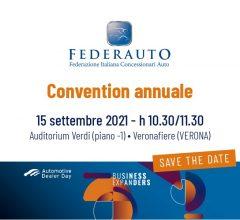 Federauto Convention annuale - 15 settembre 2021, Veronafiere